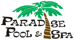 Paradise Pool and Spa Conroe Logo Header 2