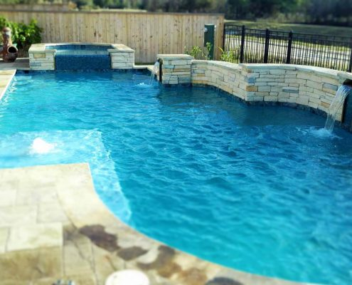 Custom pool builders near the woodlands, tx
