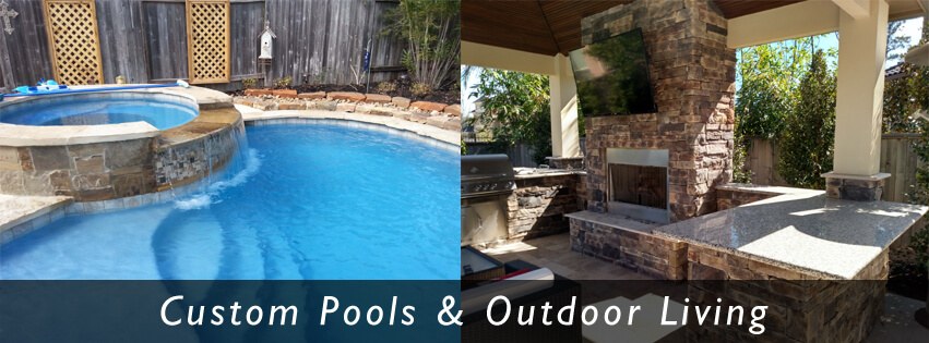 Texas Pool Builders Outdoor Living