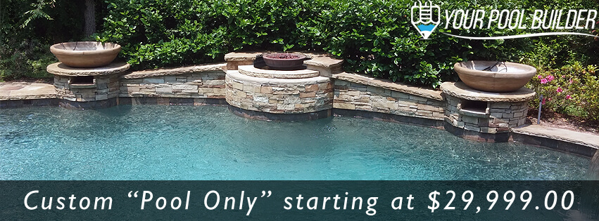 Your pool builder livingston inground pools spas for Swimming pool construction cost