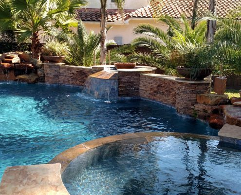 custom inground pool builders the woodlands, tx 77380 77382 77379
