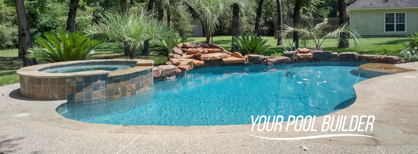 custom pool builders of Kingwood, TX