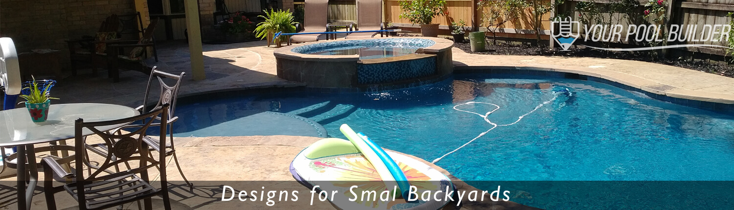 inground pool builders conroe, tx small backyard pools