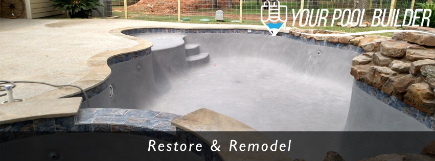inground pool remodeling montgomery, tx 77356 77316 77318