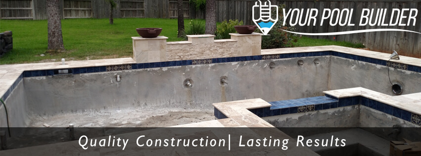 Swimming Pool Construction Process Building An Inground
