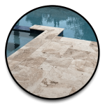 Natural Stone Pavers for swimming pools decking