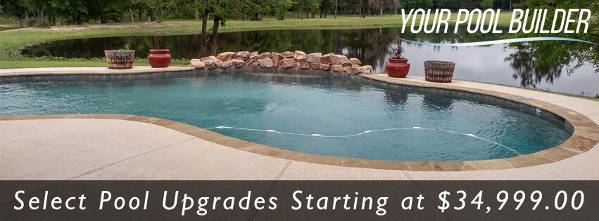 Pool construction prices cost inground swimming pools for Swimming pool installation cost