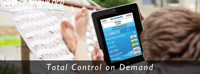 pool control systems wireless