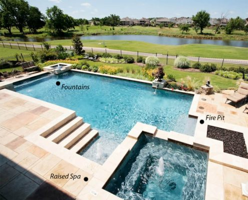 verified swimming pool contractors projects in Huntsville TX