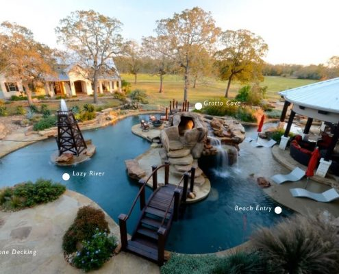 custom inground pool builders Montgomery, TX 77316
