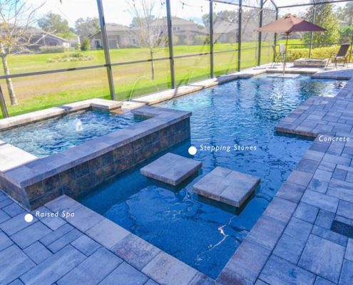 Custom pool builders in Montgomery, TX