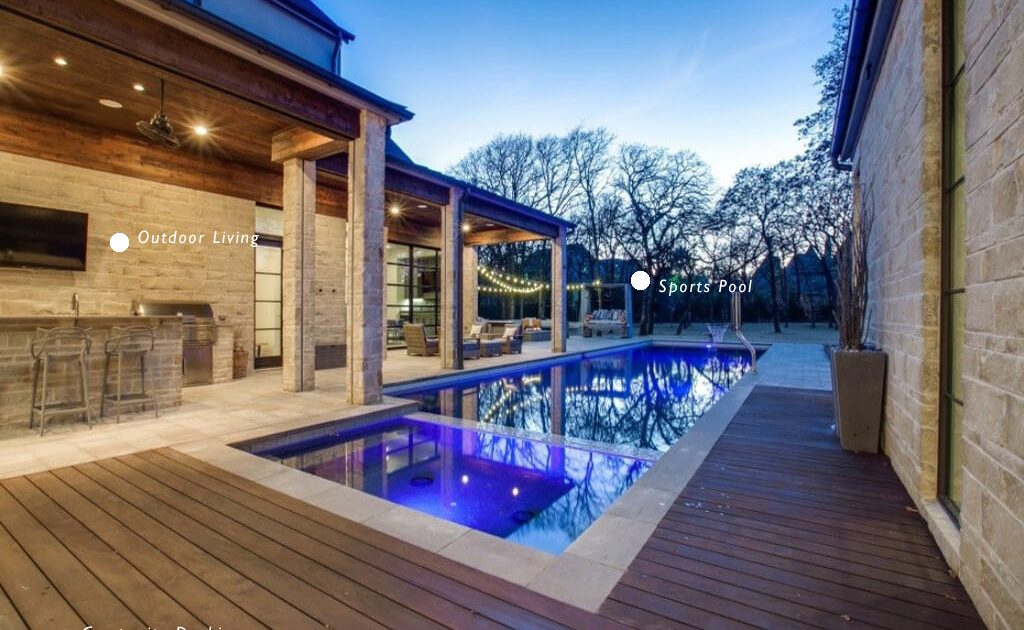 Texas Pool Builders Outdoor Living Montgomery County