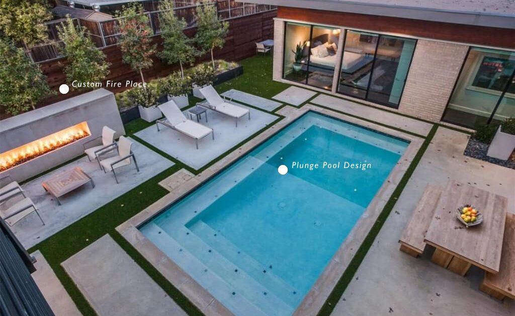 custom pool contractors pool design Houston, TX