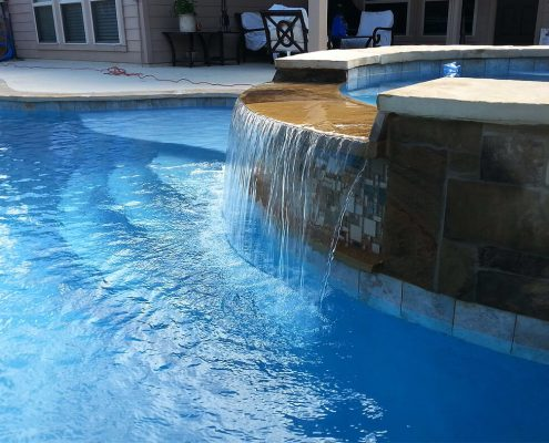inground gunite swimming pool builders Conroe, TX