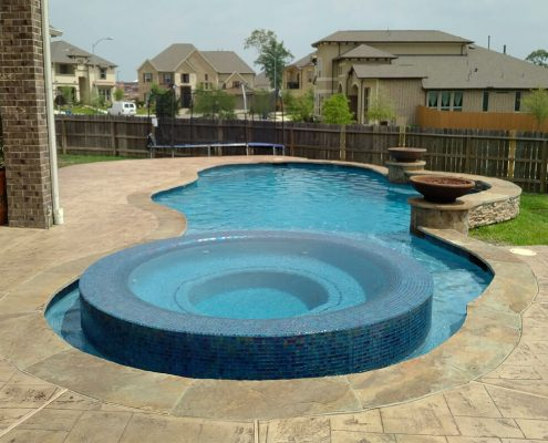 professional swimming pool contractors in Conroe, TX