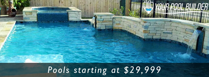 Custom Inground Gunite Swimming Pool Contractors Montgomery, TX 77356
