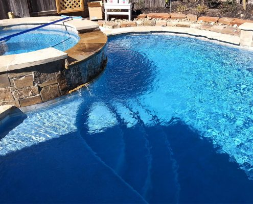 Swimming Pool Construction Company Conroe, TX