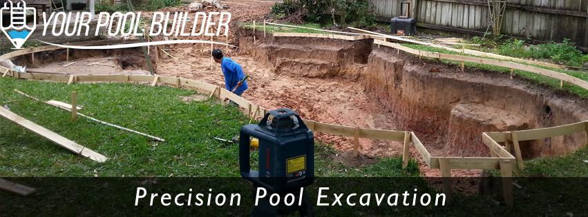 swimming pool excavation and construction custom inground gunite pool builders Conroe, TX 77304 77302