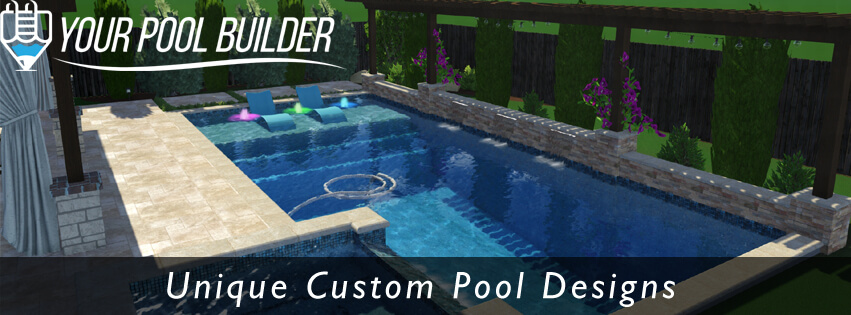 Creekside Village Park The Woodlands, TX | 3D Pool Design By Your Pool  Builder Of Texas | Your Pool Builder Of Texas