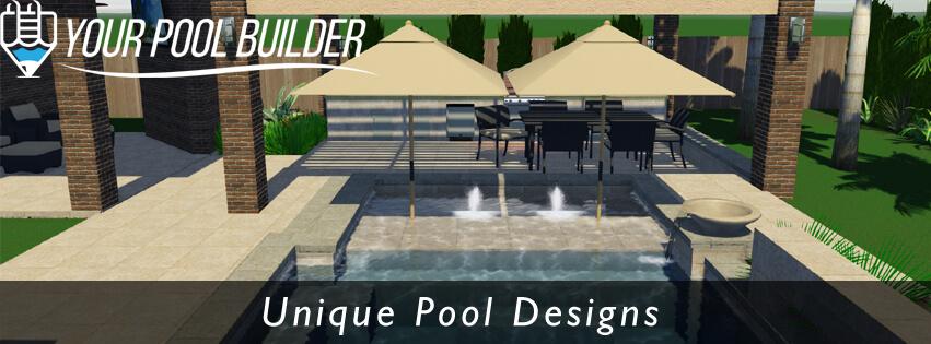 Creekside Park Village 3D Pool Design | Your Pool Builder The Woodlands, TX  | Your Pool Builder Of Texas