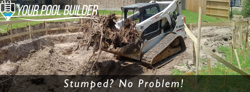 swimming pool excavation pool builders of Conroe, TX 77302 77304 77301