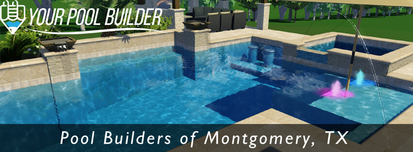3d Pool Design In Montgomery Tx Your Pool Builder