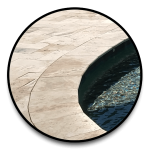 Pool Coping Material Selections Travertine