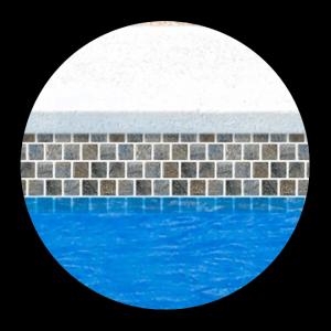 Pool Tile Standard 1 x 1