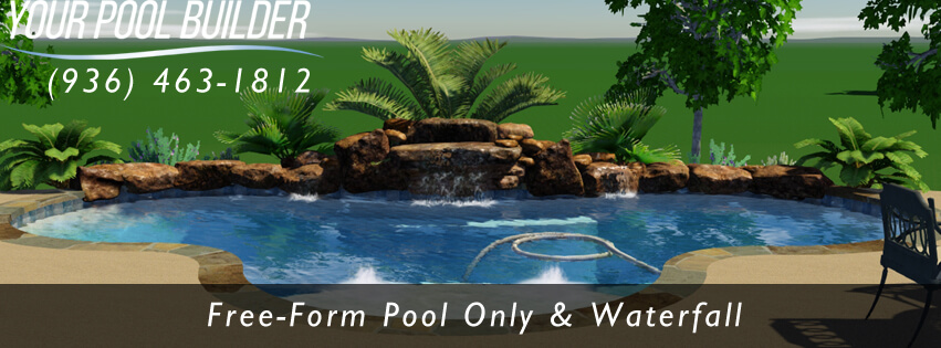 Inground pool design 77316 your pool builder montgomery for In ground pool companies
