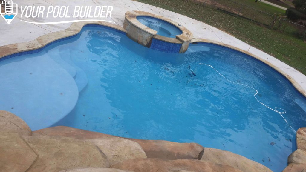 inground pool plaster colors montgomery county tx your pool builder of texas