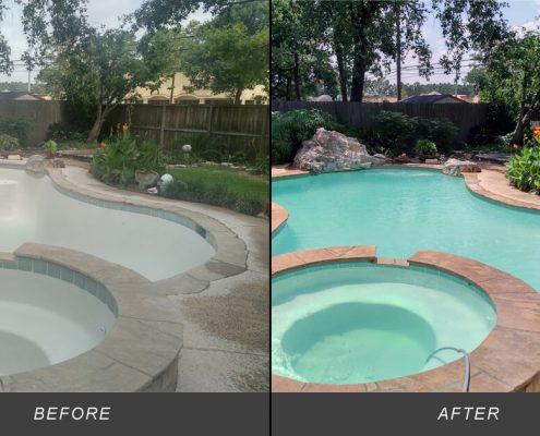 inground pool remodeling ideas photos texas