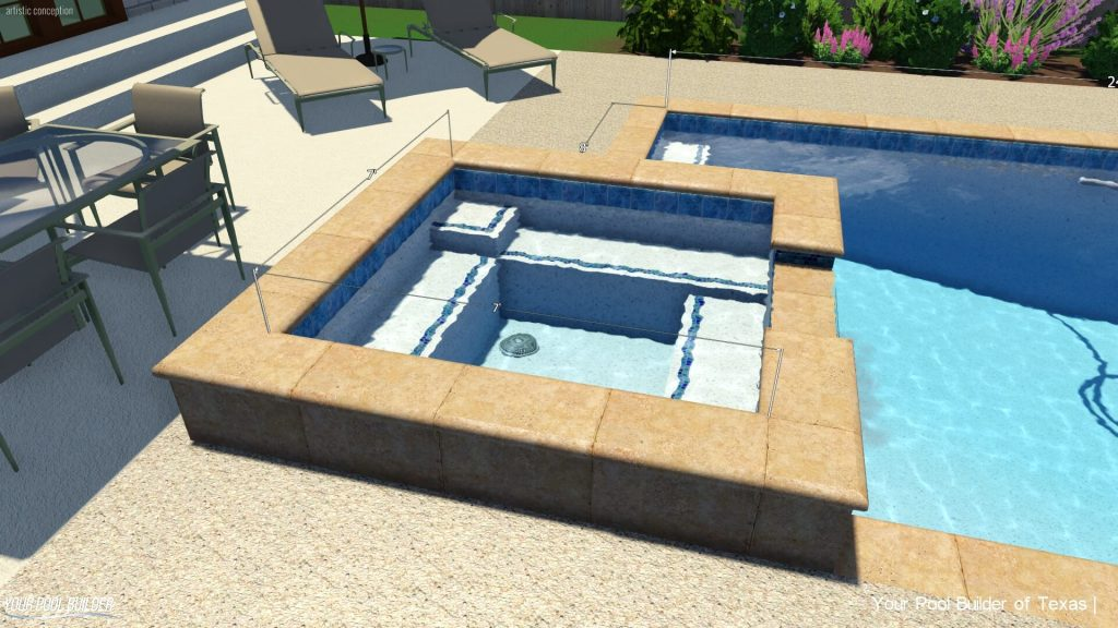 Inground Swimming Pool Prices Cost With A Spa ...
