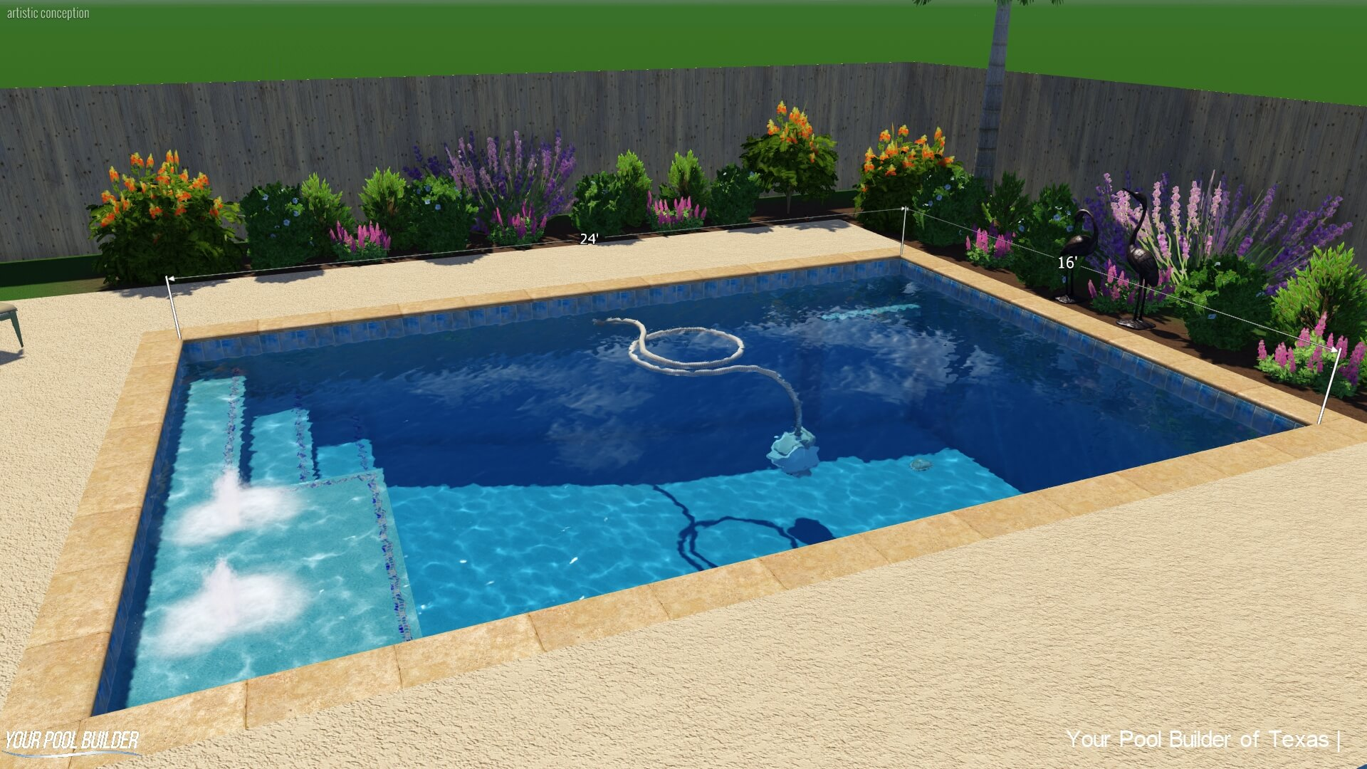 Inground Pool Upgrades Cost | Texas Swimming Pool Construction Prices