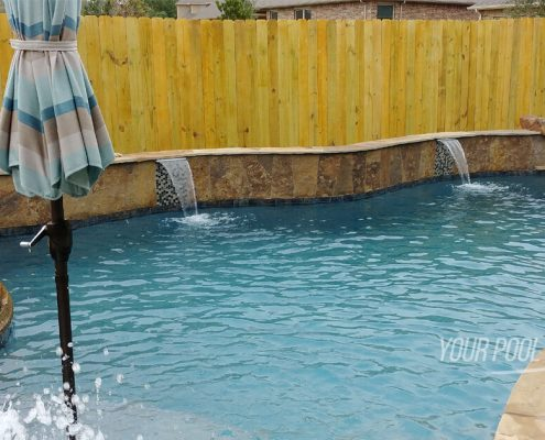 custom inground pool builders conroe, tx 77304 77302 77301