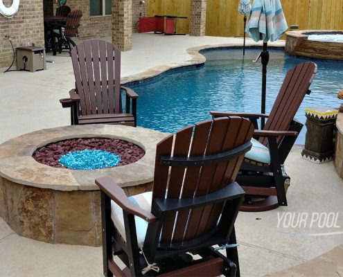 inground swimming pool contractors near conroe, tx