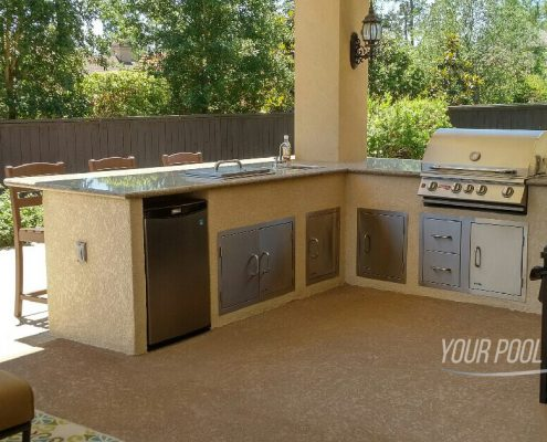 outdoor kitchen contractors the woodlands, tx