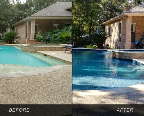swimming pool remodeling repair conroe, tx 77304 77301 77302