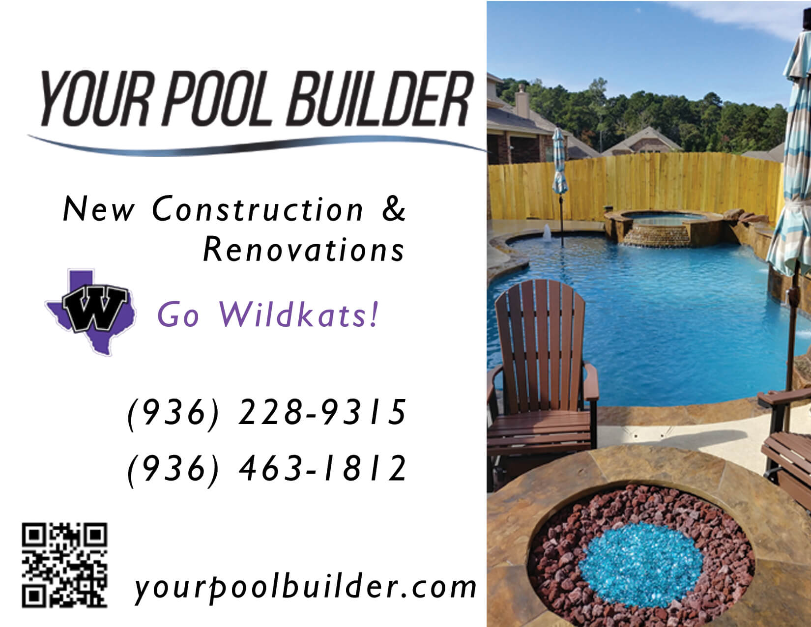 Your Pool Builder Conroe Sponsor Willis Highschool Sports