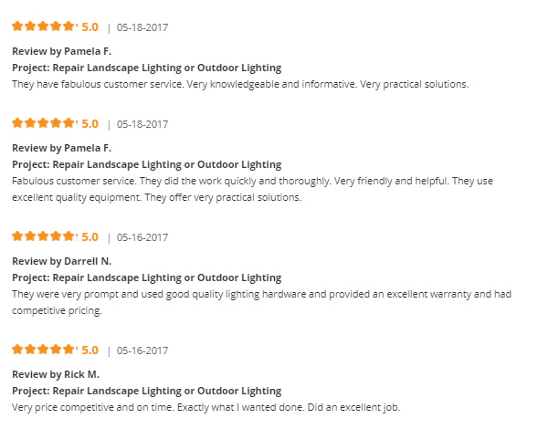 outdoor landscape lighting company reviews montgomery county
