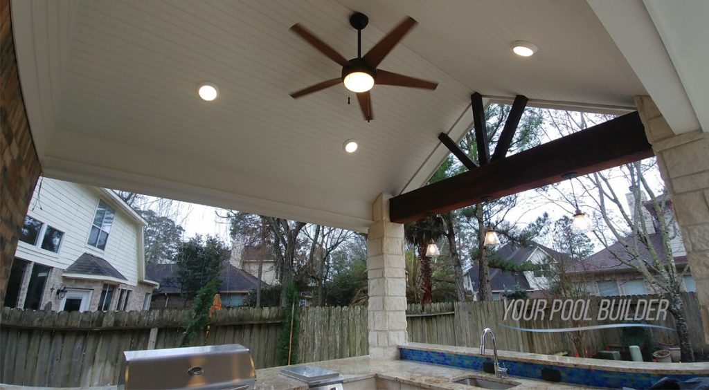 custom patios and outdoor living builders the woodlands, tx