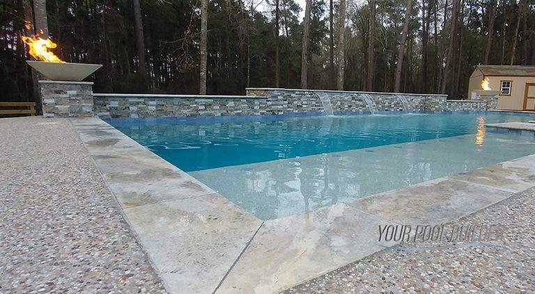 custom pool builders near conroe, tx