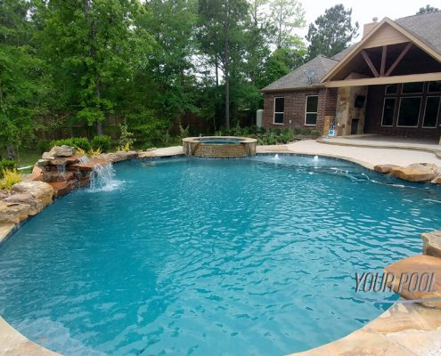 Custom Swimming Pool builders Near Montgomery, TX 77356 77316