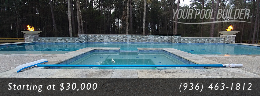 Your pool builder conroe inground pool spa company for Swimming pool builders