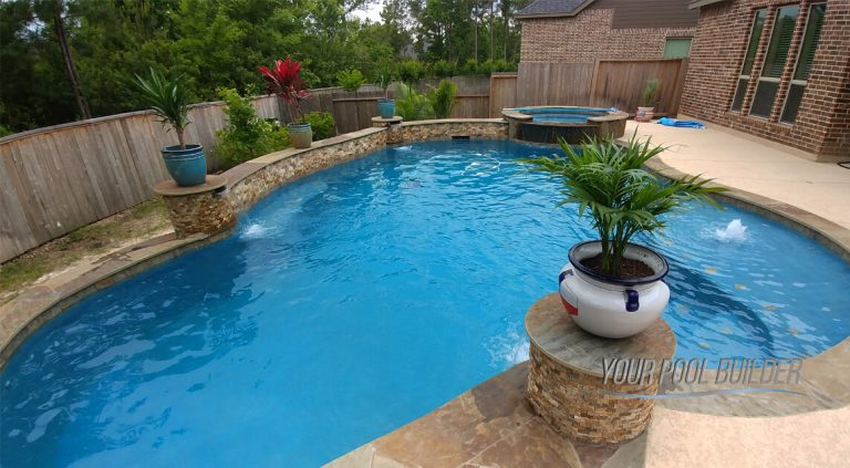 Pool builders Woodforest, Montgomery, TX 77316