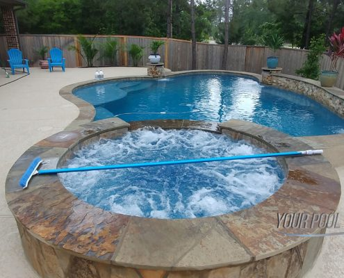 inground pools custom designs montgomery, tx 77316