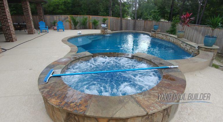 inground pools custom designs montgomery, tx 77316