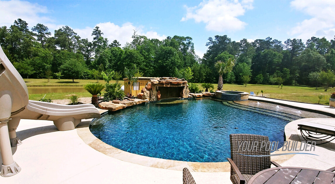 swimming pool contractors near Conroe, TX 77303-77383