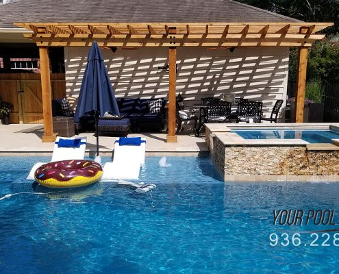 Custom Pools and Spas The Woodlands, TX 77381 77389 Construction