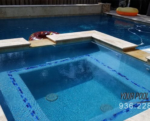 Custom Swimming Pool Contractors, The Woodlands, TX 77380 77382