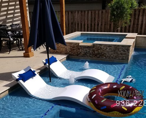 Swimming Pool design and construction the Woodlands, TX 77389